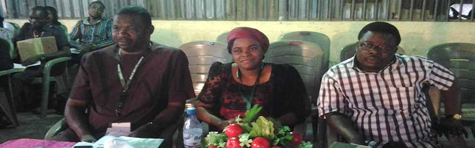 EVANG NNAMDI ROSE EZEH AND ISRAEL OKOKONI IN ONITSHA SINGLES' FORUM 2015