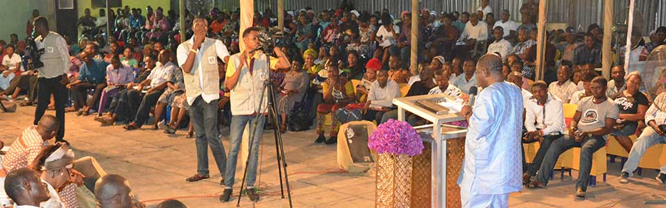 Prof. Nebo, Ministering during Couples Forum Onitsha 2016