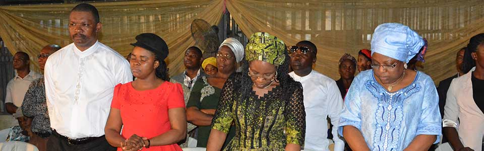 Evang. NnamdiRose, Her Exllency Okowa and Nebo's Wife; during Couples Forum Onitsha 2016